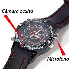 Reloj ESPIA cámara oculta 8GB