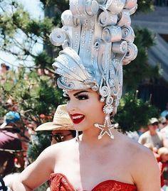 Alyssa Edwards looking sickening! Drag Makeup, Beauty Makeup, Drag Race Season 5, Farrah Moan, Violet Chachki, Alyssa Edwards, Adore Delano, Queen Hair, Club Kids