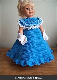Free Crochet Victoria Dress Pattern.