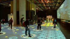 Epidemik.  Interactive collective game about epidemics done for the epidemik exhibition at la cité des sciences et de l'industrie Paris FRANCE in 2007