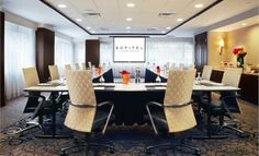 Sofitel blends French elegance with American style, situated conveniently near the Kimmel Center and Rodin Musuem. Philadelphia Hotels, Find Hotels, Convention Centre, Perfect Place, Dining, Rodin, Table, Furniture, French