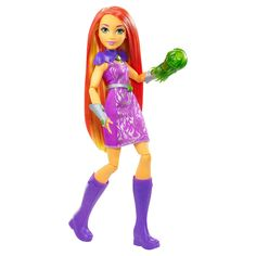 DC Super Hero Girls' Starfire 12-Inch Action Doll