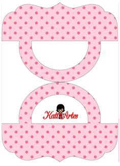 Pink in Pink Polka Dots: Free Printable Candy Bag Label.