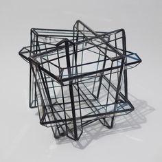 西冨なつき 多面体オブジェ「PATTERN」立方八面体の第2の星形