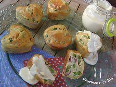 muffins petits pois / parmesan (3)
