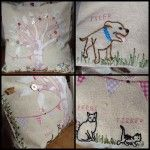 Personalised Family Tree Cushion - The Supermums Craft Fair