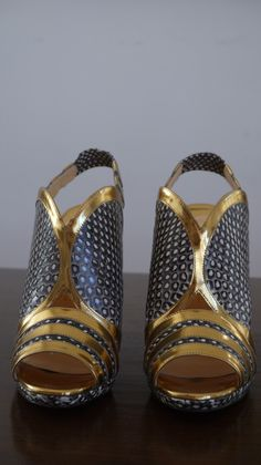Amazing Christian Louboutin slingback heel, pristine condition, worn once, originally $795.