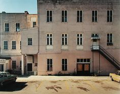 Meeting Street, Charleston, South Carolina, 1974, by Stephen Shore
