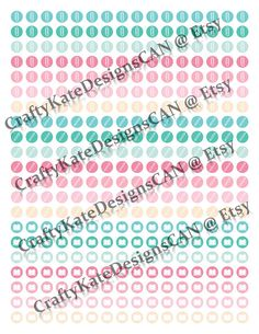 Academic/Business Planner Stickers #HappyPlanner #ErinCondren #Simplified Planner