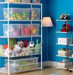Organization for kids toys, games.