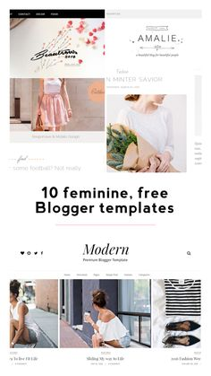 List of free Blogger templates! https://beautifully-chaotic-blog.blogspot.com/2016/11/10-feminine-free-blogger-templates.html