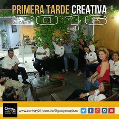 #BuenViernes para finalizar enero con la #PrimeraTardeCreativa 2016 en #Century21 Guayana Plaza. Más Capaces Más Audaces Más Rápidos