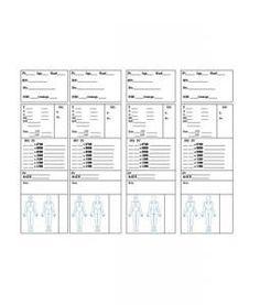Nurse assignment sheet