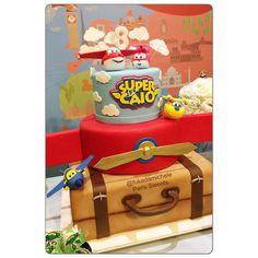 Super Wings Cake Bolo Super Wings Bolo Menino Super Wings Party