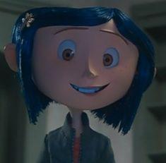 Coraline Movie, Coraline Art, Coraline Jones, Cartoon Icons, Girl Cartoon, Cartoon Characters, Fictional Characters, Tim Burton Characters, Tim Burton Films