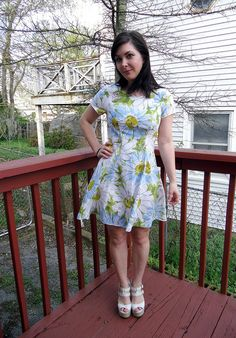 Dress from a vintage sheet!