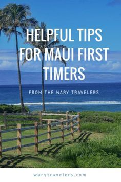 Travel Tips - Wary Travelers - Your Maui Travel Experts Helpful tips for anyone planning a trip to Maui. These are things we wish we knew before going.Helpful tips for anyone planning a trip to Maui. These are things we wish we knew before going. Trip To Maui, Hawaii Vacation, Maui Hawaii, Vacation Trips, Vacation Spots, Vacation Ideas, Vacation Food, Hawaii Life, Mexico Vacation