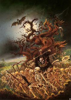 john_blanche_skeleton_horde.jpg (857×1200)