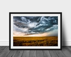Western Photography, Storm Photography, Landscape Photography, Photography Photos, Wall Art Pictures, Print Pictures, Wheat Fields, Storm Clouds, Artwork Prints