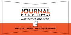Font dňa – Journal Sans New (zľava 30%, od 25,89€) - http://detepe.sk/font-dna-journal-sans-new-zlava-30-od-2589e/