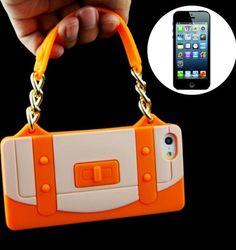 christmas iPhone 5 Handbag Shaped silicone case , $20.00