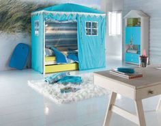 13 Awesome Kids Bedroom Tents Pic Ideas