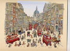 London Cat Watercolours