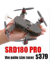 STORM Racing Drone (RTF / SRD180 Pro) http://www.helipal.com/storm-racing-drone-rtf-srd180.html