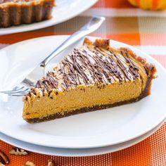 Healthy No Bake Pumpkin Pie