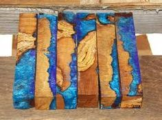 Image result for how to cast wood in resin