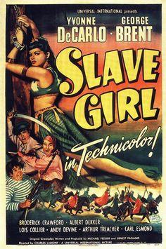 Poster - Slave Girl (1947)