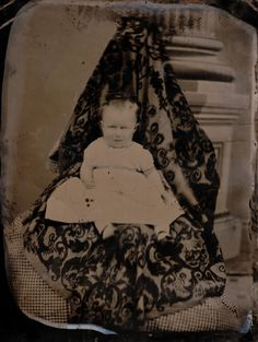 The Overwhelming Weirdness Of 1800s Ghost Mother Photography. This is not to imply that these are photos of the supernatural. The article explores the odd practice of hiding the mother in the picture.