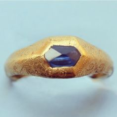 Sapphire, early 15th C
