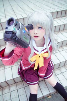 Cosplay Anime Nao Tomori, Charlotte Anime Cosplay - COSPLAY IS BAEEE! Tap the pin now to grab yourself some BAE Cosplay leggings and shirts! From super hero fitness leggings, super hero fitness shirts, and so much more that wil make you say YASSS! Kawaii Cosplay, Cosplay Anime, Epic Cosplay, Cute Cosplay, Cosplay Makeup, Amazing Cosplay, Cosplay Outfits, Disney Cosplay, Charlotte Anime