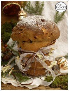 ildi KOKKI : Karácsonyi panettone Hungarian Recipes, Pulled Pork, Food And Drink, Menu, Sweet, Ethnic Recipes, Christmas, Advent, Shredded Pork