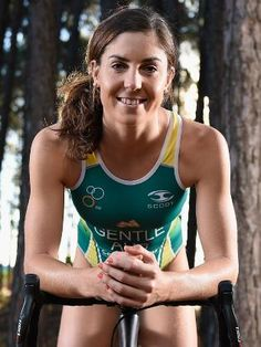 Australian triathlete Ashleigh Gentle will compete at her first Olympics in Rio.