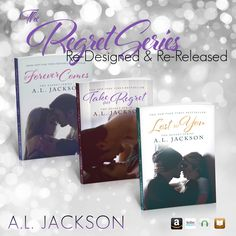 Brand New Covers designed by the incredible Regina Wamba of Mae I Design