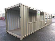 Shipping container insulation Cheap And Fast Shipping Container Buildings, Cargo Container Homes, Container Shop, Shipping Container Home Designs, Building A Container Home, Storage Container Homes, Container House Design, Shipping Containers, Storage Containers