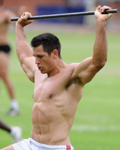 21 Rugby Players That Are So Rucking Hot - Pierre Spies Sonny Bill Williams, Pierre Spies, Barbour, Rugby Muscle, Muscle Hunks, Hot Rugby Players, Rugby Men, Beefy Men, Cycling Quotes