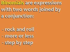 ▶ 10 Common Binomial Expressions in English - YouTube