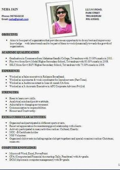 Resume For Teachers In Indian Format Google Search Stuff To Buy