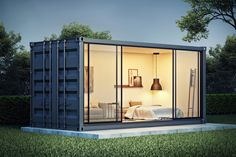 Container home conceptYou can find Shipping container design and more on our website.Container home concept Shipping Container Office, Shipping Container Home Designs, Shipping Containers, Shipping Container Conversions, Building A Container Home, Container House Plans, Cargo Container, Container Gardening, Country Homes Decor