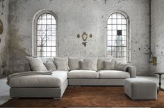 Buy online Clara By minimomassimo, corner fabric sofa with removable cover Angles, Better Alone, Fabric Sofa, Cushion Covers, Wall Design, Living Room Designs, Corner, Furniture, Home Decor