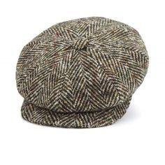 172edbd9a5b36 Orange Muirfield Tweed Bakerboy Cap Flat Cap
