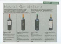 Two of our Spanish reds take Ernie Whalley's top spots in his Ribera del Duero selection in Sunday Times 29 Dec 13.