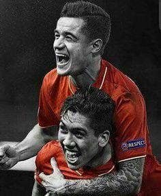 Roberto Firmino & Philippe Coutinho - Liverpool Football Club - LFC - Premier League