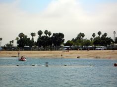 Mission Bay RV Park at San Diego, California with the kids.  Should be interesting...