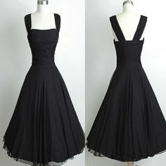99e459d673 Simple Black Tight Vintage Ball Gown casual homecoming prom dresses