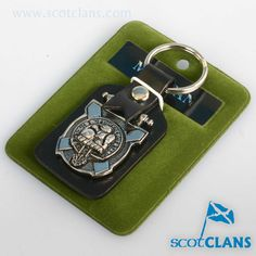 MacBean Clan Crest Keyfob. Free worldwide shipping available