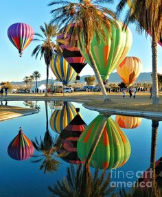 Lake Havasu Balloon Festival in Arizona.